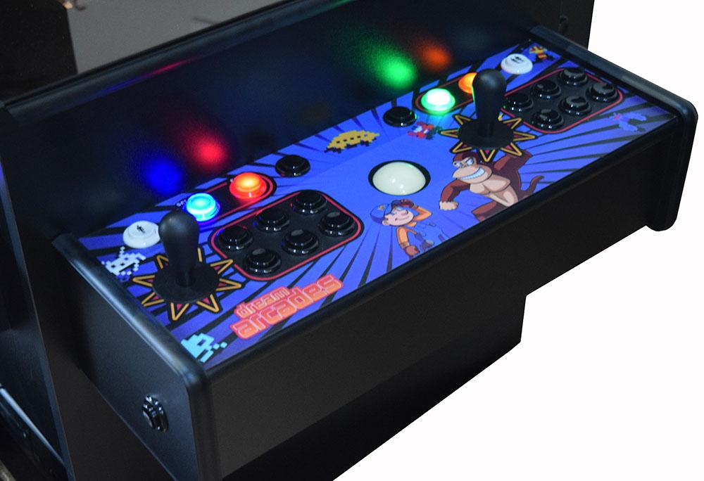 Dreamcade 2 0 Cocktail Arcade Multi Game Arcade Table