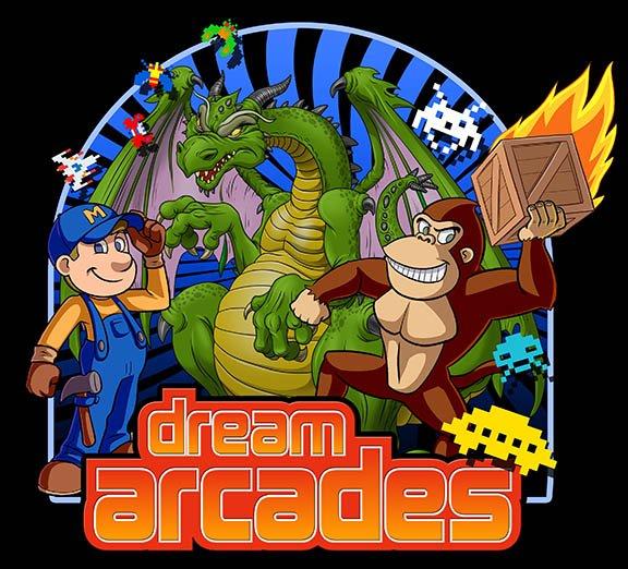 Dreamcade Vision 40   4-Player Arcade Cabinet