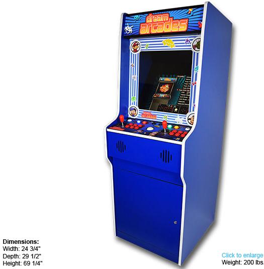 Dreamcade Retro Edition Retro Multicade Dream Arcades